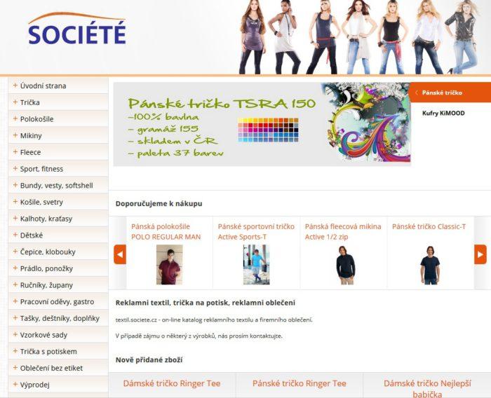E-shop pracovní a reklamní textil  f90943aed7