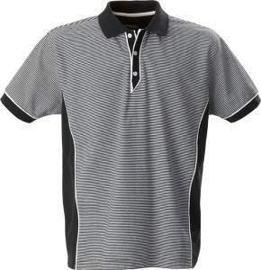 Pánské proužkované polo triko s knoflíčky