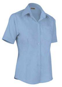 košile modrá světlá dámská