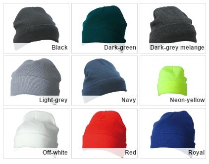 Reklamní pletená čepice