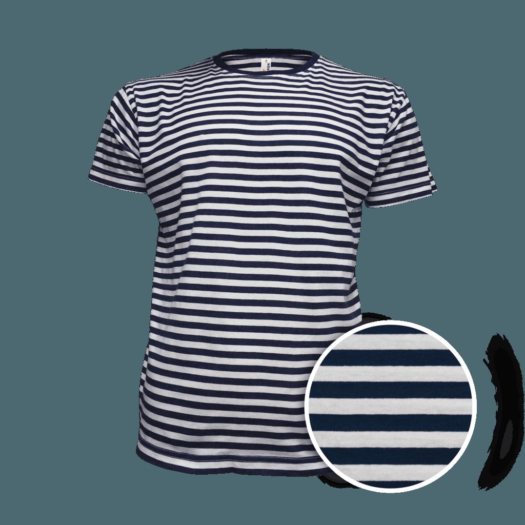 Námořnické tričko s proužky