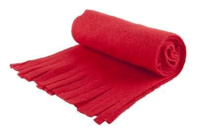 fleecová šála, zimní doplňky