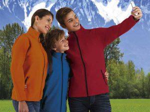 Softshell textil Valento