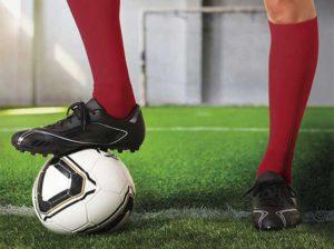 Vysoké ponožky na fotbal