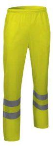 Reflexní pracovní kalhoty a montérky