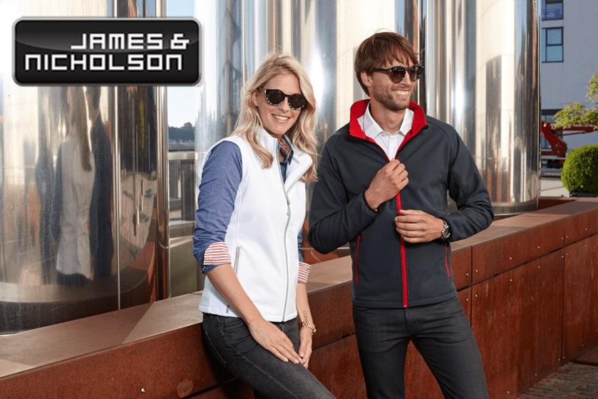 Reklamní textil James & Nicholson