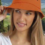 látkový klobouk