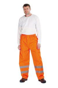 Hi-Vis nepromokavé kalhoty