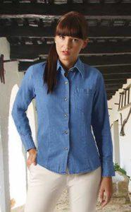 Dámská jeansová košile