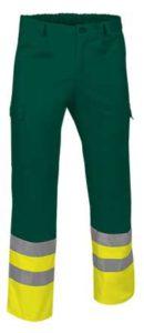Reflexní pracovní kalhoty-kapsáče