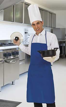 Zástěry delší kuchařské