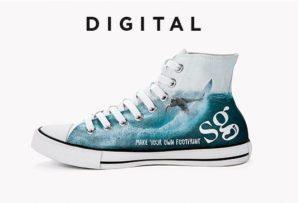Boty s digitálním potiskem