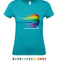 Tričko s plnobarevným logem