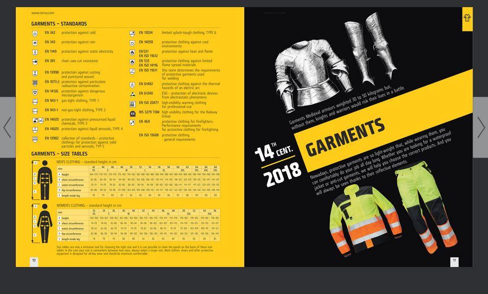 katalogy pracovního textilu