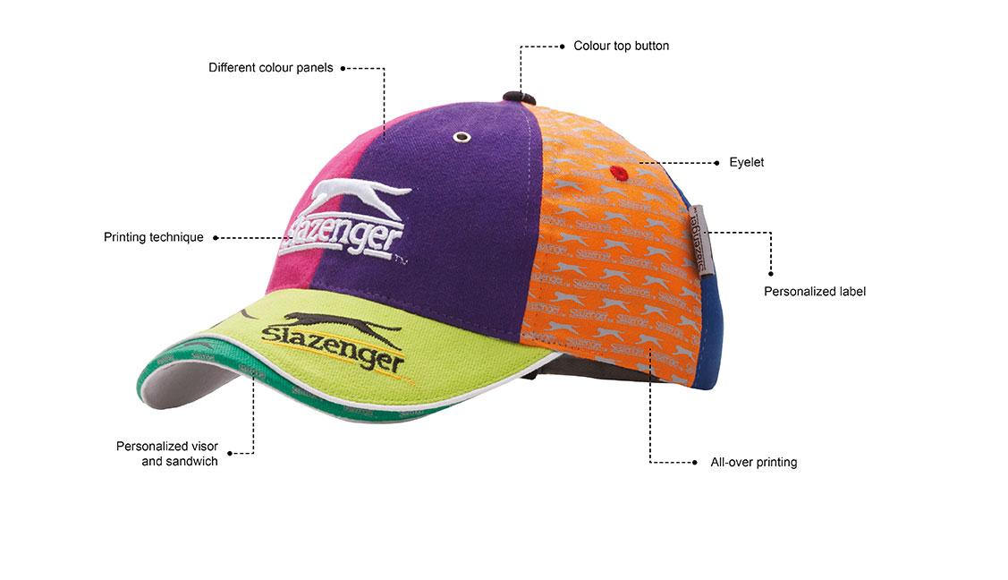 Branding čepic a kšiltovek