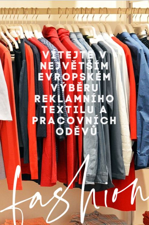 reklamní a pracovní textil