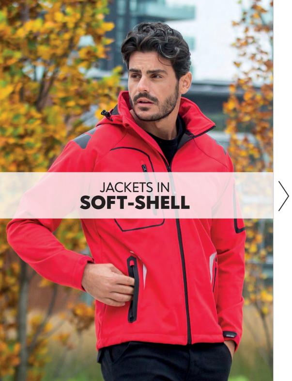 Softshell textil JRC