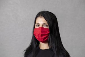 antibakteriální obličejová rouška